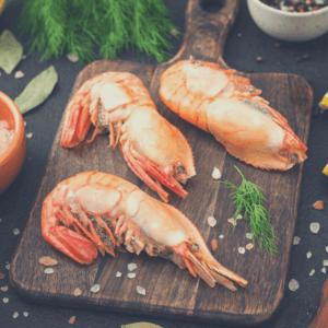1 300x300 - Сырая гребенчатая креветка