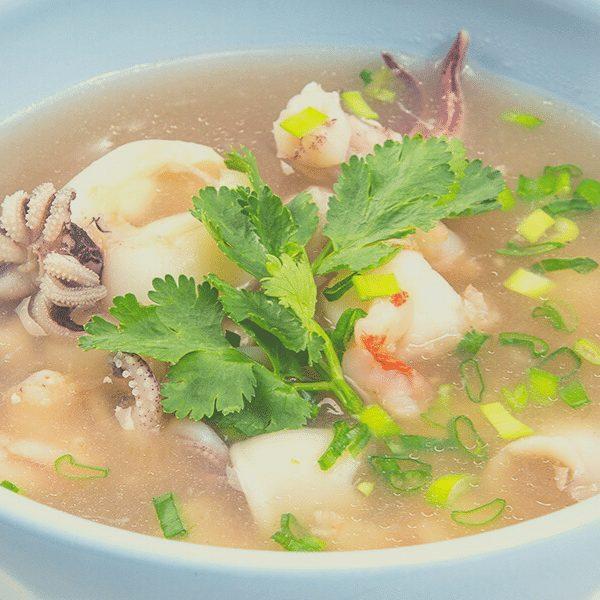 2 - Суп с дарами моря