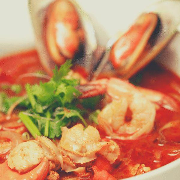 2 - Том-ям с морепродуктами